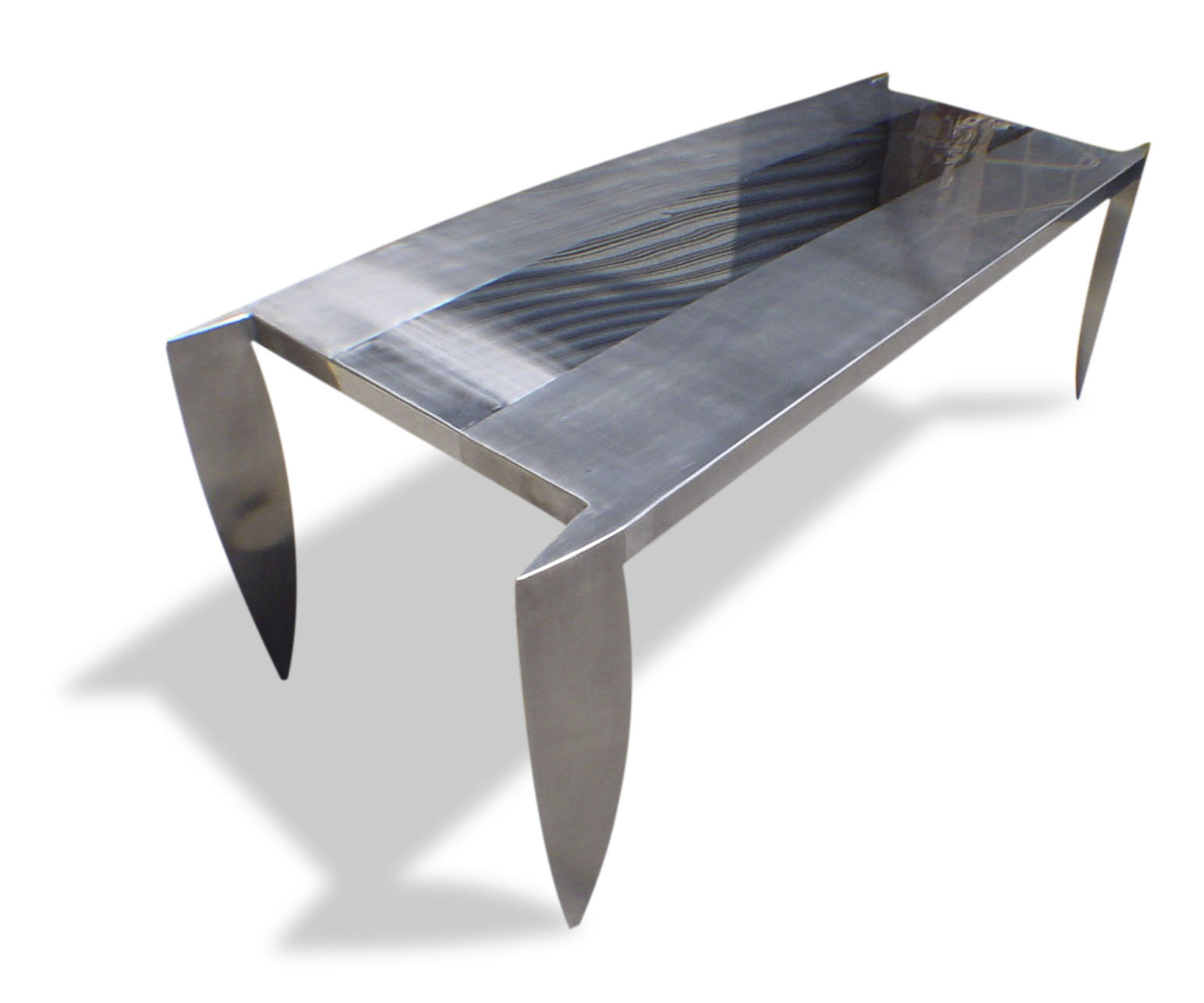 Table m tal et verre design varela la boutique design for Table architecture